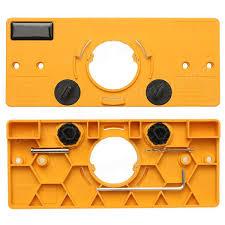 Cabinet Door Hinge Jig 35mm Cup Style Hinge Jig Drill Guide Cabinet Door Installation