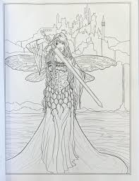 amazon com goddess and mythology coloring book fantasy coloring