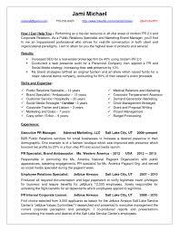 cover letter pr resume samples pr resume samples public relations