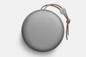 minimalist speakers bang olufsen beoplay a1 a minimalist and quality bluetooth speaker