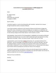 cover letter for research internship internship cover letter