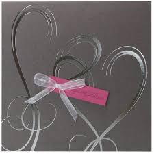 mariage gris que faire faire part mariage gris fuchsia coeur argent regalb jp3009