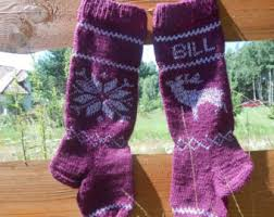 knit knitted personalized with