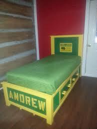 John Deere Bedroom Furniture by Ana White John Deere Storage Beds Diy Projects