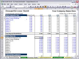 Excel Financial Plan Template Advanced Financial Statement Analysis Templates In Docs And Excel