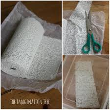 diy plaster casts for doctor role play the imagination tree