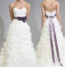 brides you u0027ll want a flower sash after seeing these