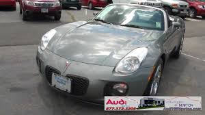 2007 pontiac solstice gxp turbo convertible youtube