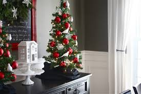 fully decorated small trees decorations tree