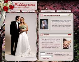 wedding web 18 free lovely wedding website templates designfreebies