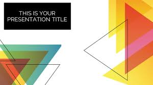 templates powerpoint abstract abstract triangles free powerpoint templates google slides themes