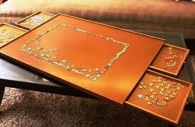 jigsaw puzzle tables portable jigsaw puzzle table storage organize board 1000 pcs mat carpet new
