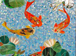 38 best mosaic water lilies and fish images on pinterest mosaic