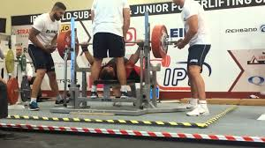 Bench Press Records By Weight Class World Record Bench Press Prokhor Poplygin Rus Sub Junior 93kg
