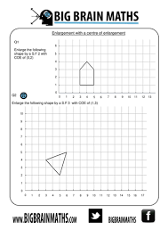 every worksheet your ever need for enlargements by busybob25