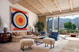 in the livingroom andy williams s eccentric palm springs home architectural digest