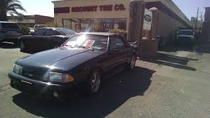 5 0 ford mustang for sale 3rd 1988 ford mustang fox convertible 5 0 v8 sold
