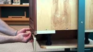 kitchen cabinet toe kick options how to remove the toekick youtube