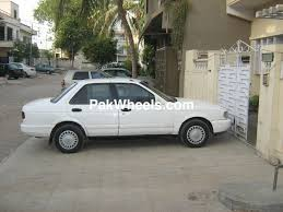 nissan sunny 1991 nissan sunny 1991 for sale in karachi pakwheels