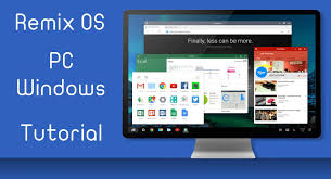 android os for pc the dual os remix os android os for pc steemit