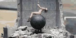 Wrecking Ball Meme - the alternate ending to miley cyrus wrecking ball and other