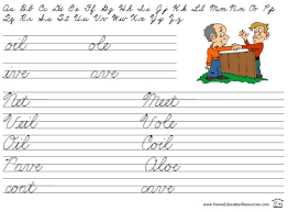 fun printable cursive u2013 fran lafferty u0027s page