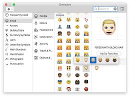 celebration emoji how to access u0026 use different emoji skin tones on mac