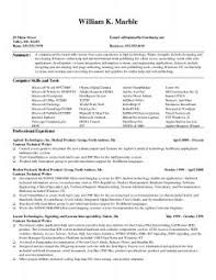 Resume For Technical Jobs by Examples Of Resumes Careertraining Hard Copy Resume To Sample