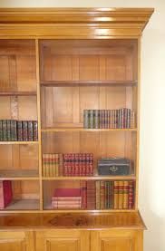 early victorian oak library bookcase antiques atlas