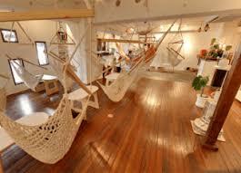 hammock base café japan info