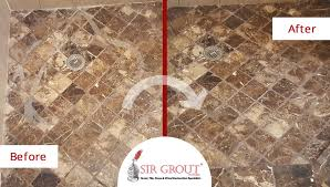 Grout Cleaning And Sealing Services Marble Shower In Highland Park Is Beautifully Restored With Proper