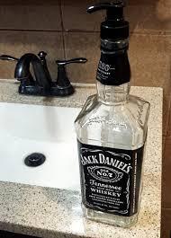 Lotion Dispenser 1l Jack Daniel U0027s Soap Or Lotion Dispenser U2013 Mancrafted