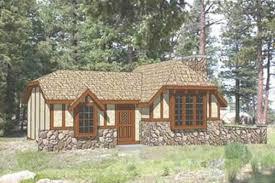 tudor style house plan 2 beds 1 00 baths 775 sq ft plan 116 113