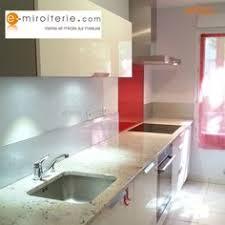 credence de cuisine en verre crédence de cuisine en verre laque sur mesure beige crédences