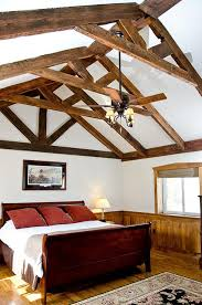 vaulted ceiling beams to incorporate ceiling beams into your style