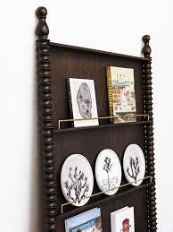 Leaning Book Shelf Sabin El Mirador Leaning Bookshelf