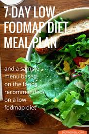 7 day low fodmap diet meal plan u0026 menu fodmap diet plan fodmap