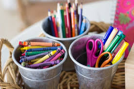 organized craft supplies 4 different ways to do it