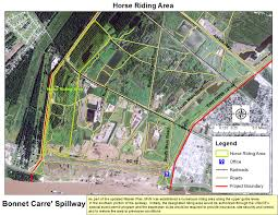 New Orleans Levee Map by New Orleans District U003e Missions U003e Recreation U003e Bonnet Carre U0027 Spillway