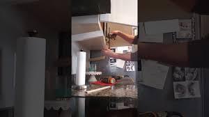 kitchen cabinet installation tips cabinet light rail install tip youtube