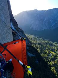 Hanging Tent by Valley Uprising