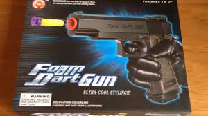 the foam dart gun