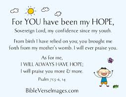bible verse hope psalm 71 5 6 bible verse images