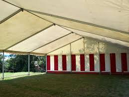 Striped Canopy by Custom Made Pole Tents For All Types Of Events Denver Covers