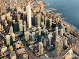 San Francisco Planning Map by Transbay Office Of Community Investment And Infrastructure