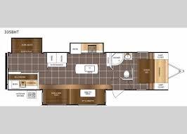 lacrosse rv floor plans floorplan 2018 lacrosse 335bht travel trailer rv floorplans i