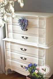 White Vs Black Bedroom Furniture Classic French Provincial Dresser Restyled With Generalfinishes