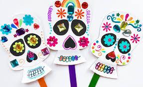 dia de los muertos decorations día de los muertos day of the dead sugar skull craft ideas ooly