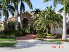 Modern Front Yard Desert Landscaping With Palm Tree And Landscaping Las Vegas Great Package Deals Call 702 706 0407