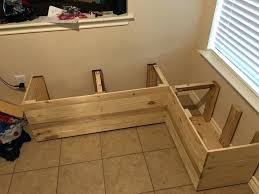 Corner Bench Seat With Storage Bench Seat With Storage Diy Benches Diy Kitchen Bench Seat With